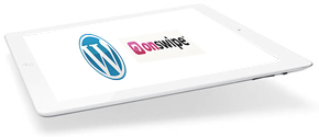 OnSwipe WordPress plugin for iPad